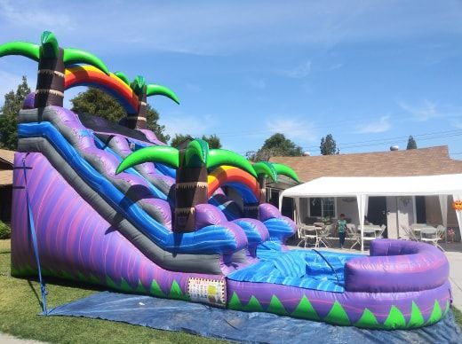water slide for rental near me Moreno Valley Menifee Beaumont party bounce house Orangecrest Riverside Paludis jumpers San Jacinto Hemet
