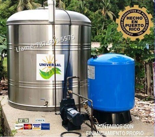 Tanque de Agua $300 Bono