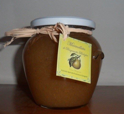 Marmellata di bergamotto biologico Azienda Agricola Francesco Gangemi