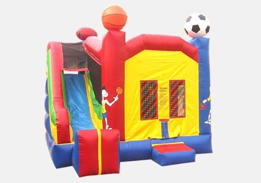 combo 1 in 4 slide and moonbounce