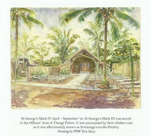 Changi Prison, POWs, WWII, FEPOWs, St George's Chapel