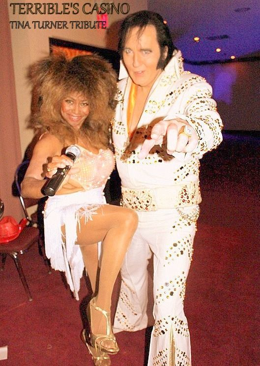 Tina Turner Impersonator Tribute Show at Terrible's Casino