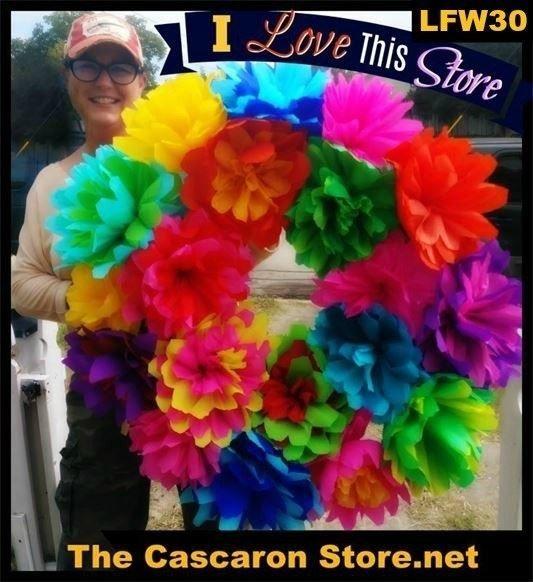 Fiesta Wreath creation by MLH