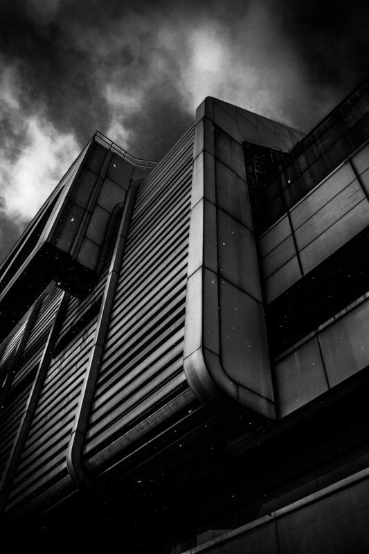 Stieven Rogiers Photography  ICC Spaceship Fine Art Black and White picture