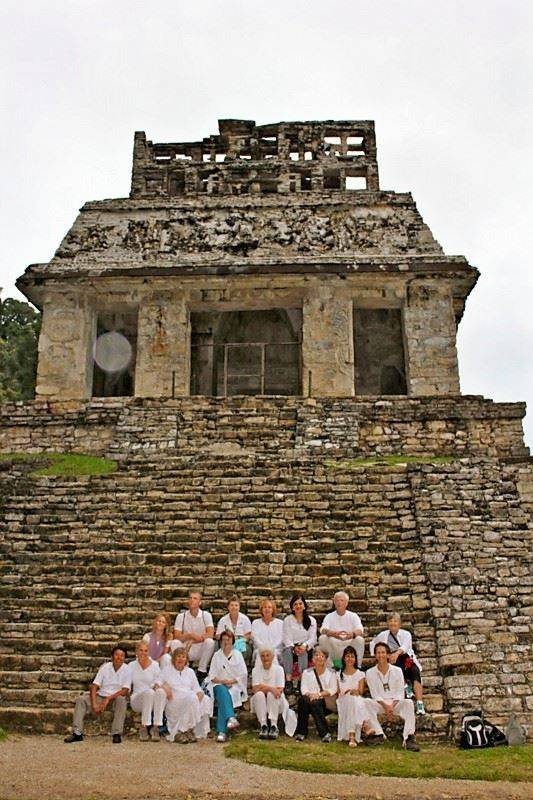 Temple of the Sun, Palenque, Mexico on 11:11:11 before our ceremony