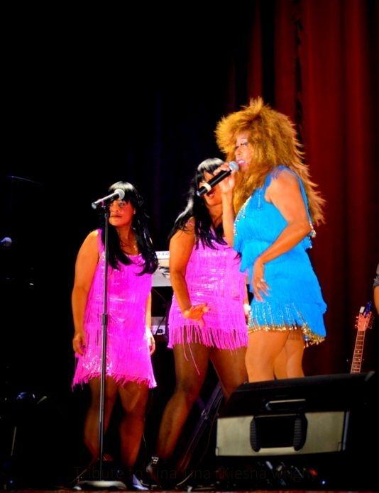 Tina Turner Tribute Show, Kiesha Wright