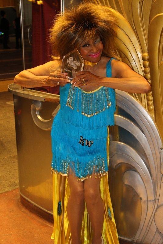 Kiesha Wright as Tina Turner, Sacramento, CA