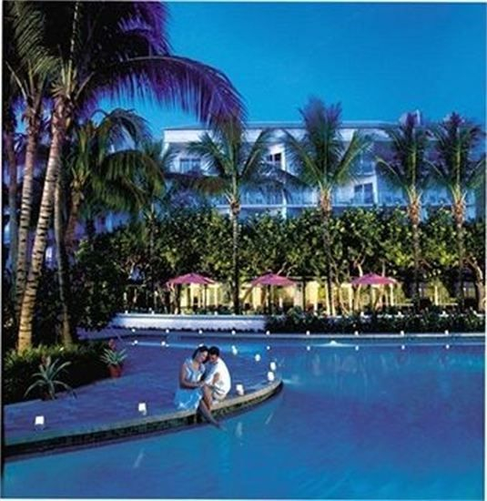 Lago Mar's poolside resort on the beach in fort Lauderdale Florida.