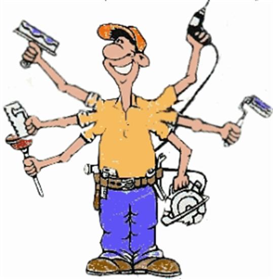 HVAC man/ Dave's Handyman Express multitasking at it's best