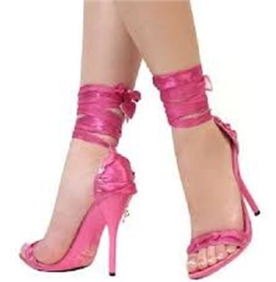 Such Pretty Pink Fashion Shoes! But who would wear them after reading this? Read INFO by an Independent Researcher!
