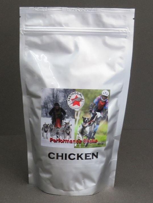 Fastdog Recovery Shake Herstel Shake Kip Chicken Voedingssupplementen Ellen's Happy Dogs Hasselt