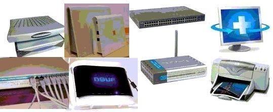 Connexions box internet informatique