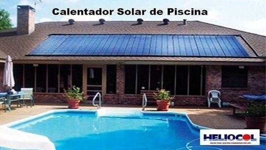 Calentador Solar Piscina