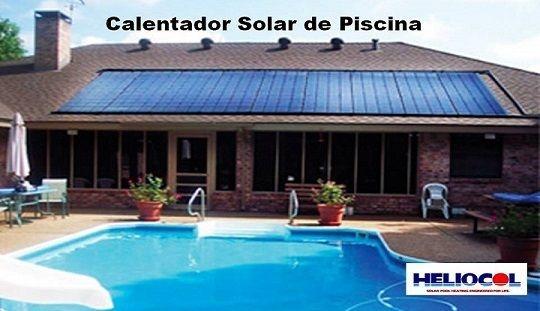 Calentador de Piscina Solar