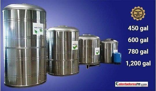 Tanques de agua Inox 304