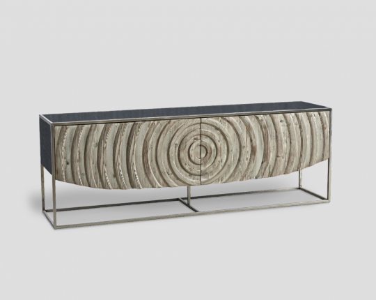 Console, Solid, Wood, Custom, Modern