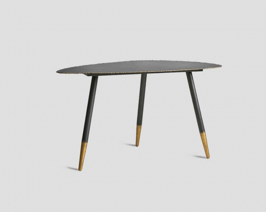 Side Table, Metal, modern