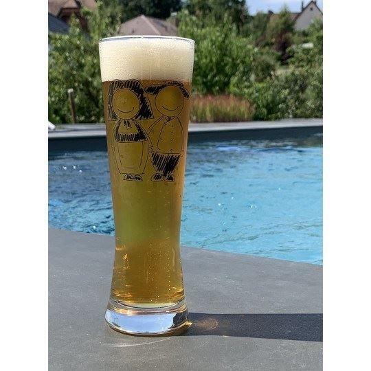 6 Verres à Bière Hans Jeannala et Seppala