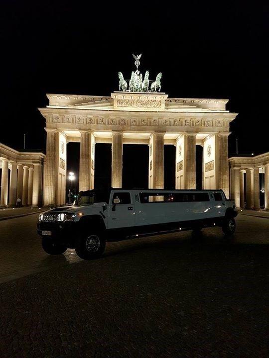 Unsere Limousine in Berlin