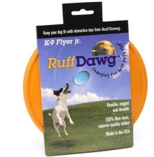 Ruff Dawg K9 Flyer Jr Rubber Dog Toy