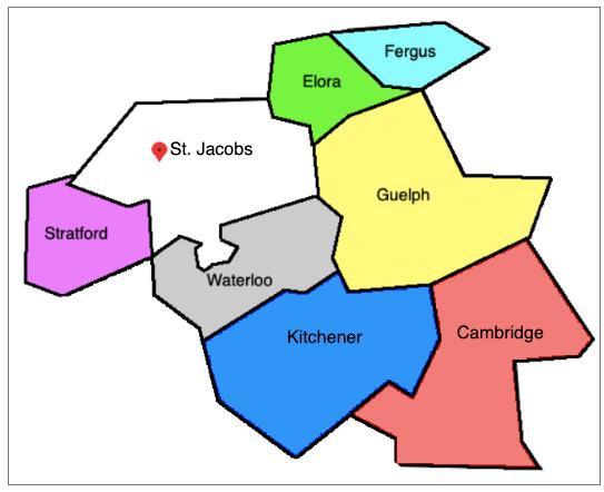 Toronto Map   1833mixit4u