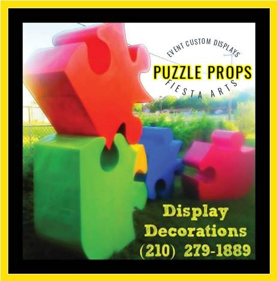 Large Puzzle Display Decorations