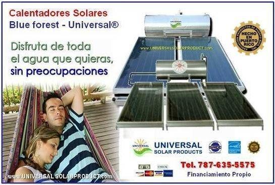 Modelos de calentadores solares
