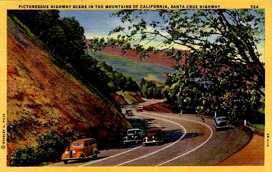 Highway 17 haunted Santa Cruz