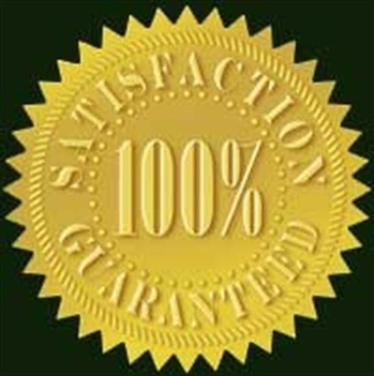 100% plumbing satisfaction