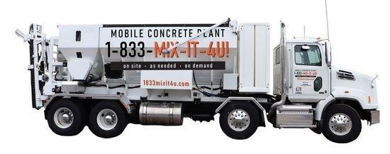 Cement Mixer Rental Truck   1833mixit4u