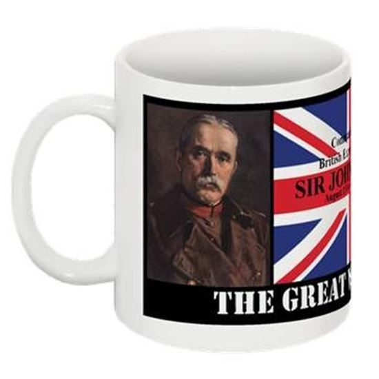 Gallery Solace. The Great War 1914-1918 Collectable Mug. SIR JOHN FRENCH commander of the British Expeditionary Force