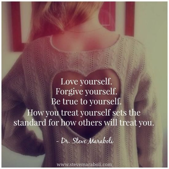 Love yourself as you would others