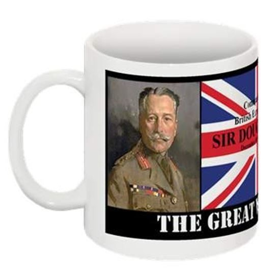 Gallery Solace. The Great War 1914-1918 Collectable Mug. Sir Douglas Haig The most controversial of all the military commanders