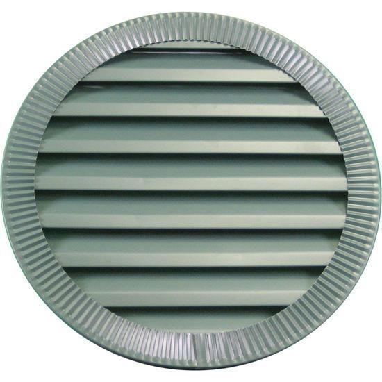 Crimped Aluminum gable vent