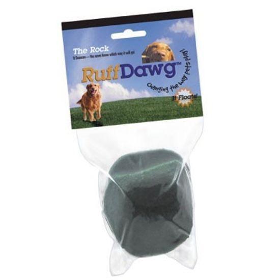 Ruff Dawg Rock Rubber Dog Toy