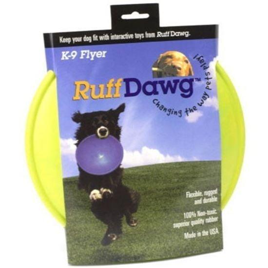 Ruff Dawg K9 Flyer  Rubber Dog Toy