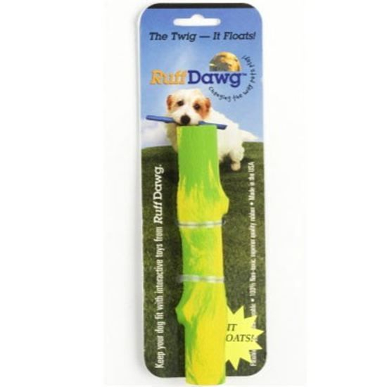 Ruff Dawg Twig Rubber Dog Toy