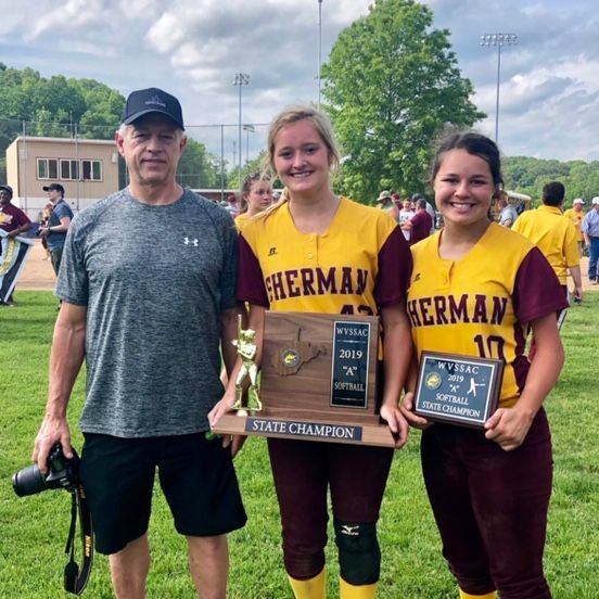 Autumn and Chelsea Thompson WV State Champs