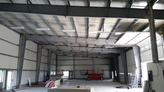 Warehouse wiring Spruce Grove