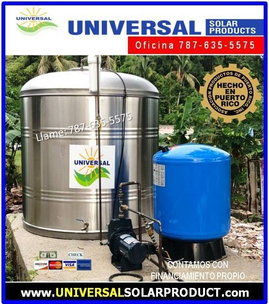 Tanques de agua stainless steel $300 Bono