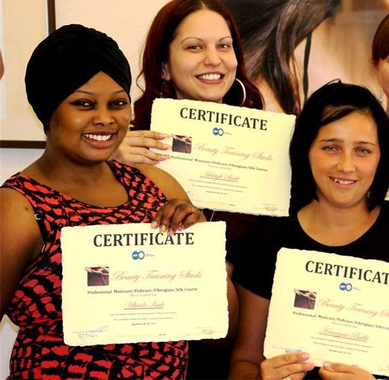 beauty training studio Nail and Beauty Courses in London