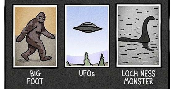 Santa Cruz Bigfoot UFOs Monster