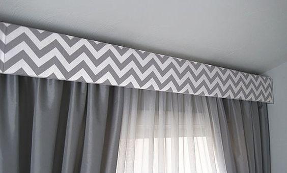 Galería tapizada en zigzag