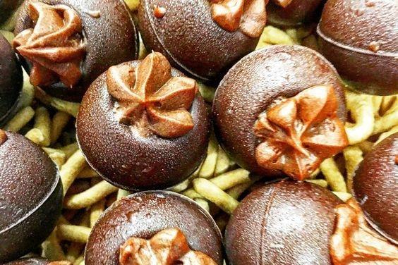 Maple Mocha Mousse Dark Chocolate Truffles