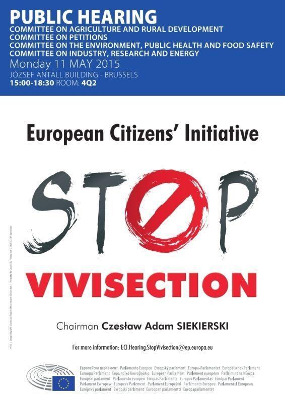 Stop alla vivisezione audienza 2015