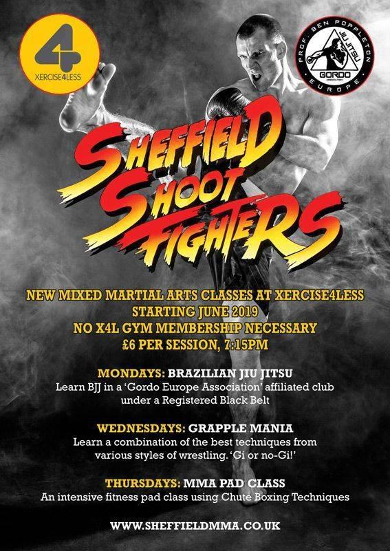 Sheffield MMA Mixed Martial Arts Fight Club BJJ Jiu Jitsu Gordo
