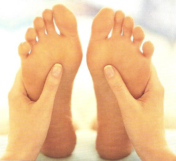 Reflexology, Massage