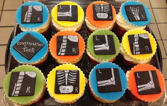 Xray Custom Cupcake Toppers Milwaukee