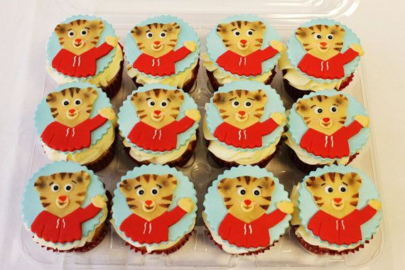 Daniel The Tiger Custom Cupcake Toppers Milwaukee