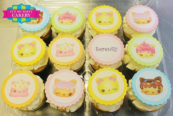 Shopkins Custom Cupcake Toppers Milwaukee
